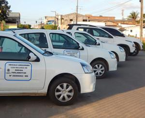 Veículos adquiridos com emendas do deputado Fábio Reis