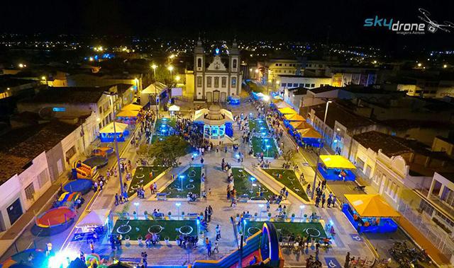 Inauguração da Praça