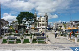 Praça da Piedade reformada com recursos do deputado Fábio Reis