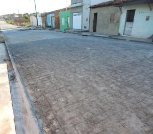 Pavimentação do Libório está finalizada