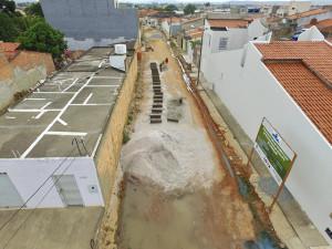Calçamento das travessas que ficam localizadas próximas a rua Tobias Barreto