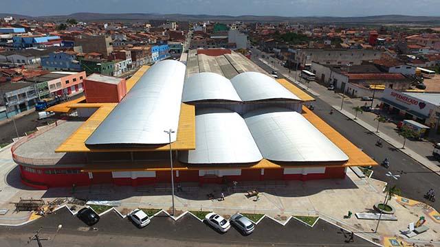 Mercado Municipal foi inaugurado há 11 meses
