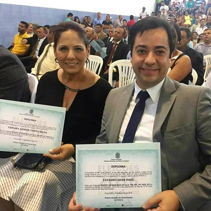 Caso o impeachment obtenha êxito, o vice-prefeito, Luciano Goes, assume o comando da prefeitura local