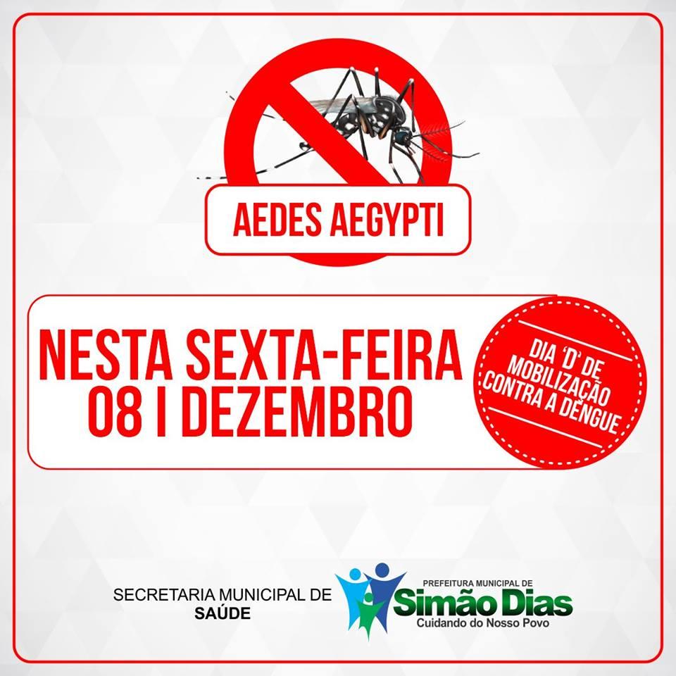 """""""Dia D"""" de mobilização de combate ao Aedes aegypti"""