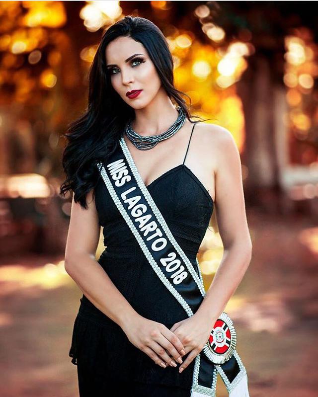 Candidata de Lagarto, Ariadne Marghoti (Foto: Rafael Oliveira)