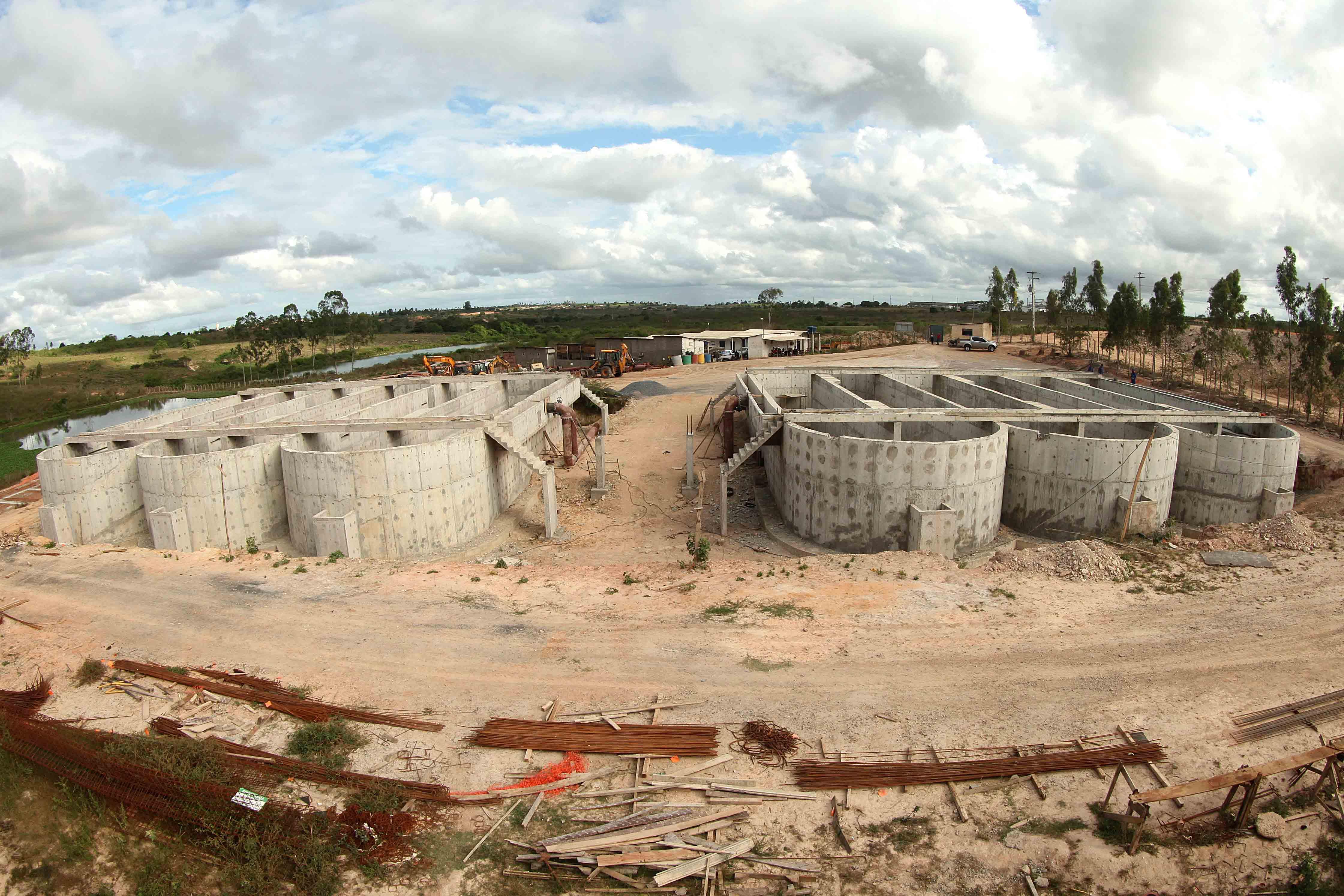 Investimentos em esgotamento sanitário para Lagarto totalizam R$ 95.930.000