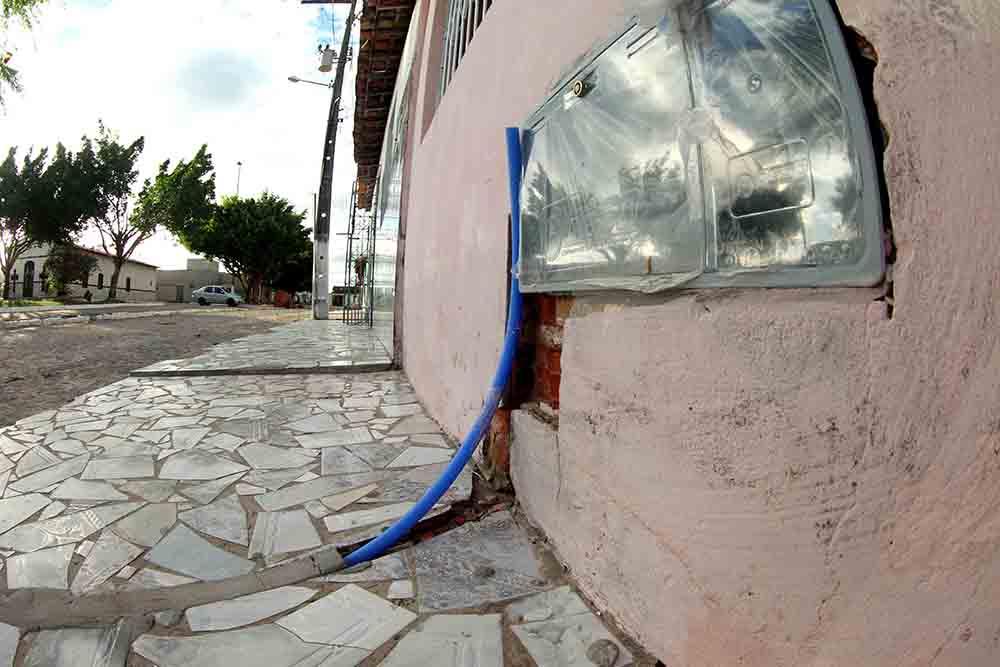 Abastecimento de água no povoado Crioulo / Foto: ASN