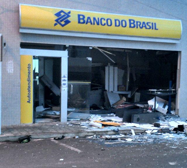 banco explosão
