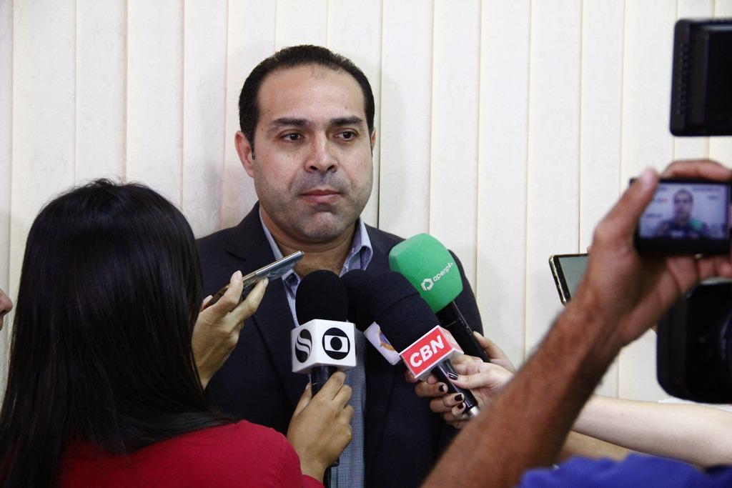 Declaração foi dada em coletiva de imprensa na sede da Seplag