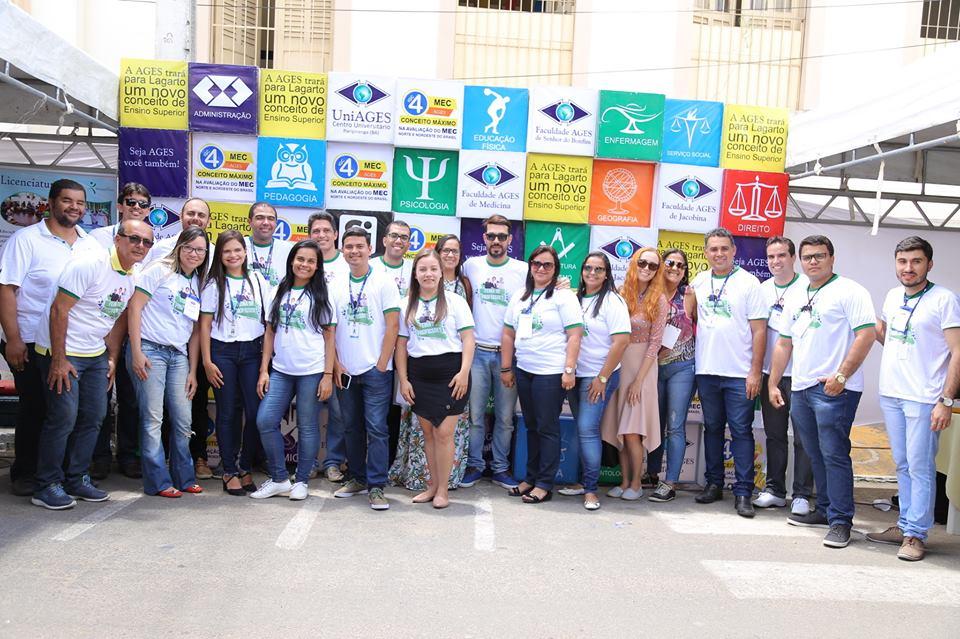 O evento aconteceu em parceria com o Centro Universitário Ages (UniAges), Senac e a empresa Prepara Cursos